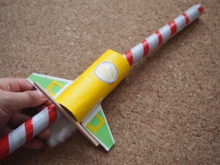 輪ゴムロケット