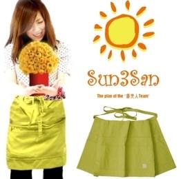 「Sun3San(サンサンサン)」(新)腰前ファーマーズ・エプロン/S3S-KE149/