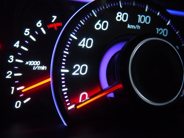 LED式スピードメーター