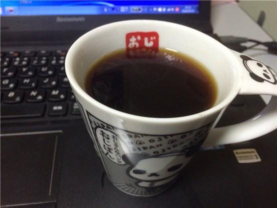実際にコーヒーを淹れてみた画像