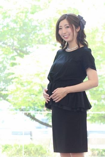 マタニティ授乳期ドレス Reika