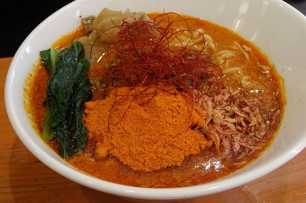 ほおずきのタンタン麺