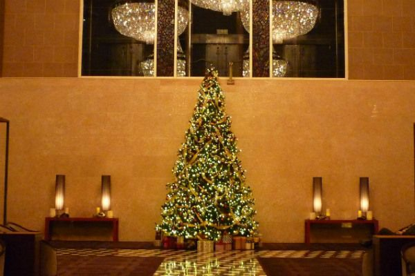 ハイアットリージェンシー東京のクリスマスイルミネーション