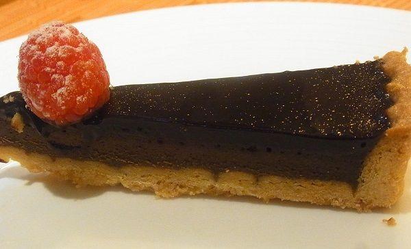 ザ・リッツ・カールトン大阪 イタリアレストラン『スプレンディード』のチョコレートタルト