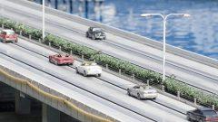 模型のハイウェイ(バイパス道路)