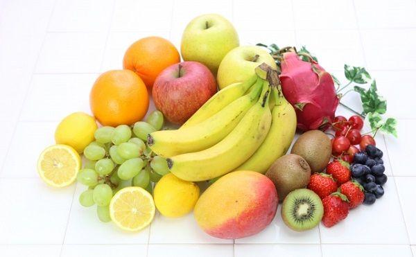 ビタミン類の豊富なフルーツ盛り合わせ